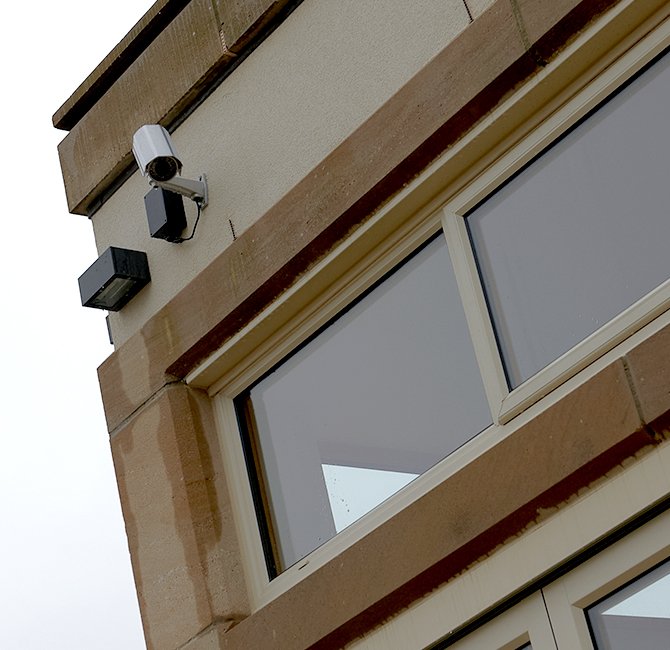 CCTV Camera in Opperation